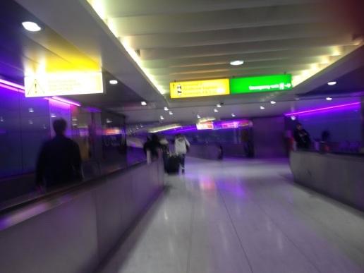 A Terminal 3-at a TfL-el összekötő folyosója