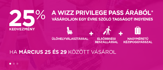 Wizz PrivPass