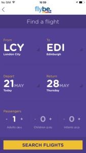 Flybe app 1