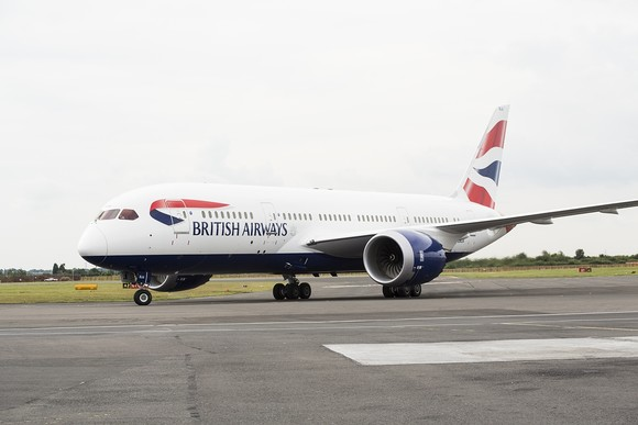 British Airways B787