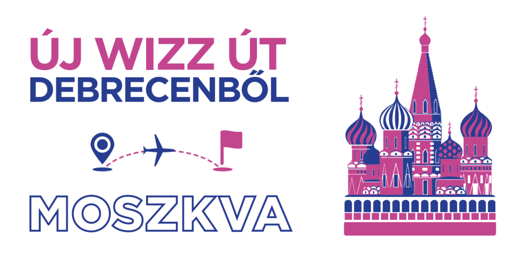 WIZZ Debrecen-Moszkva