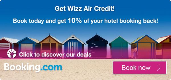 6c2096296c85 Nos, mint azt talán tudjátok a WizzAir, a Booking.com-al társulva próbál  kedvezményeket biztosítani azon utasok számára, akik repülőjegyükkel együtt  ...